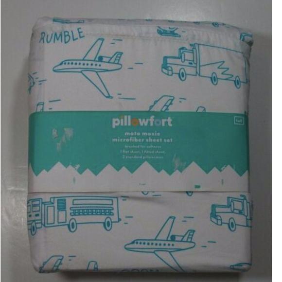 Pillowfort new moto moxie sheet set Full flat